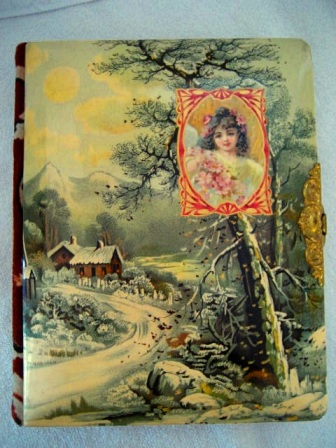 Victorian andtique photo album