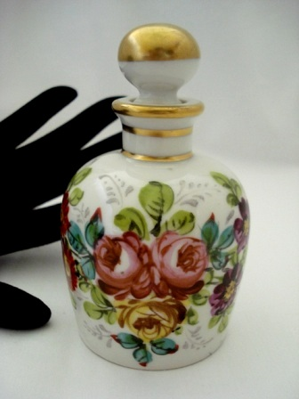 French porcelain perfume bottle by Samson & CO. 1930's