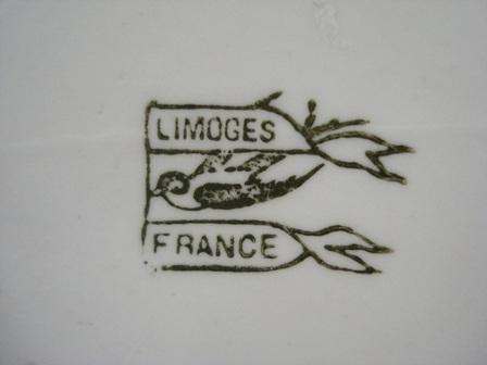 Limoges porcelain marks dating