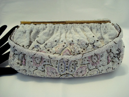Charbet elegant beaded evening bag French purse