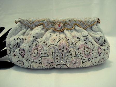 Charbet French beaded evening purse 1930 handbag