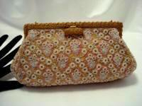 Josef 1930 1940 beaded evening purse elegant handbag