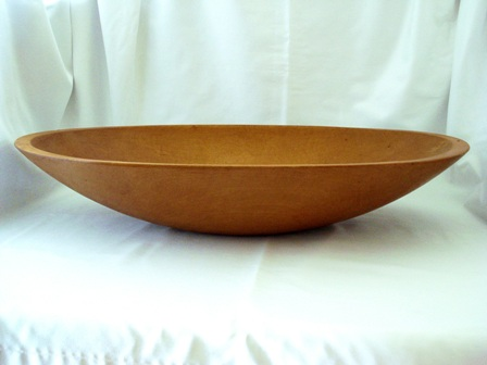 Munising 1920's huge oval dough bowl 24 inches